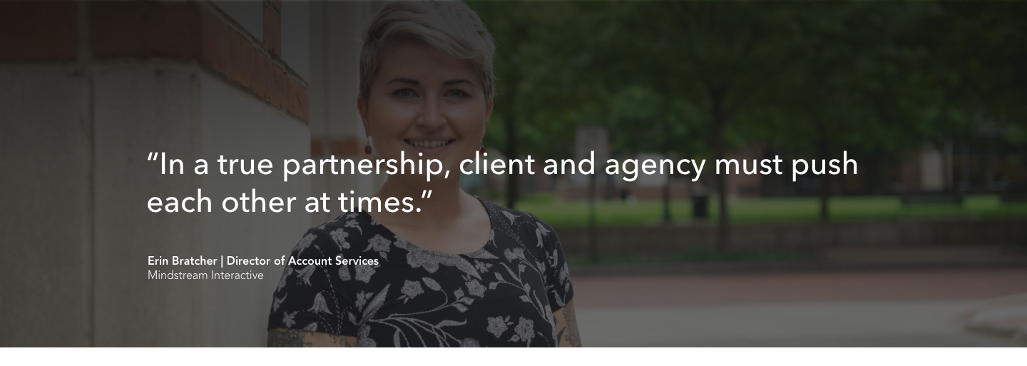 Quote on agency client relationships